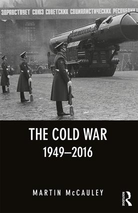 The Cold War 1949-2016 book cover