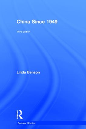 China Since 1949: 3rd Edition (Hardback) book cover