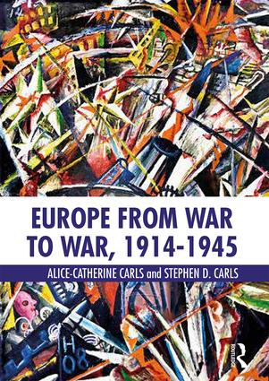 Europe from War to War, 1914-1945 book cover