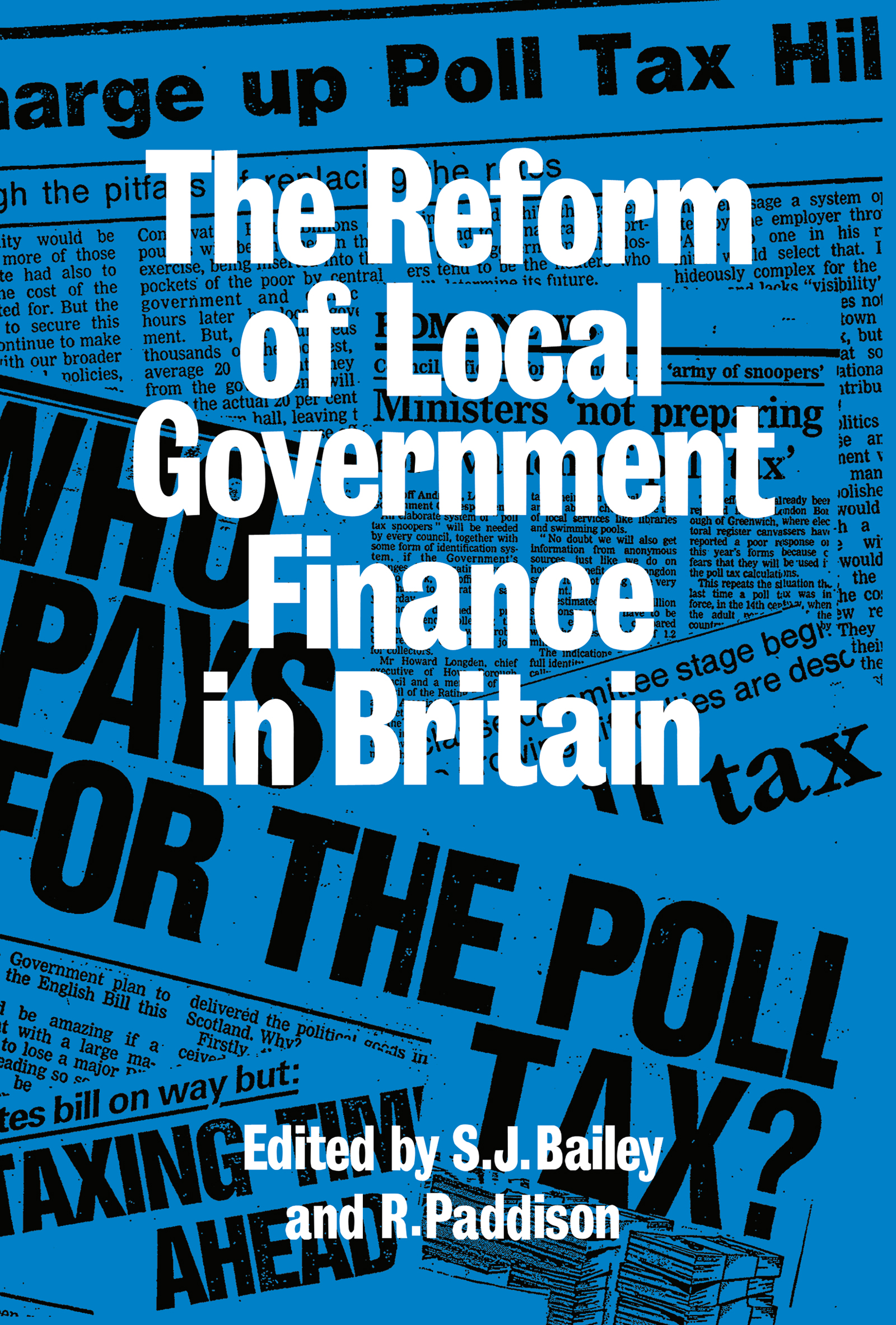 Reform Of Local Govt Finance