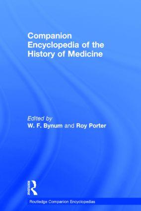 Companion Encyclopedia of the History of Medicine (e-Book) book cover