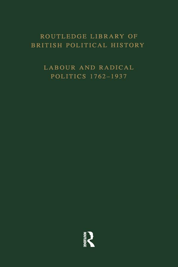 English Radicalism 1853–1886