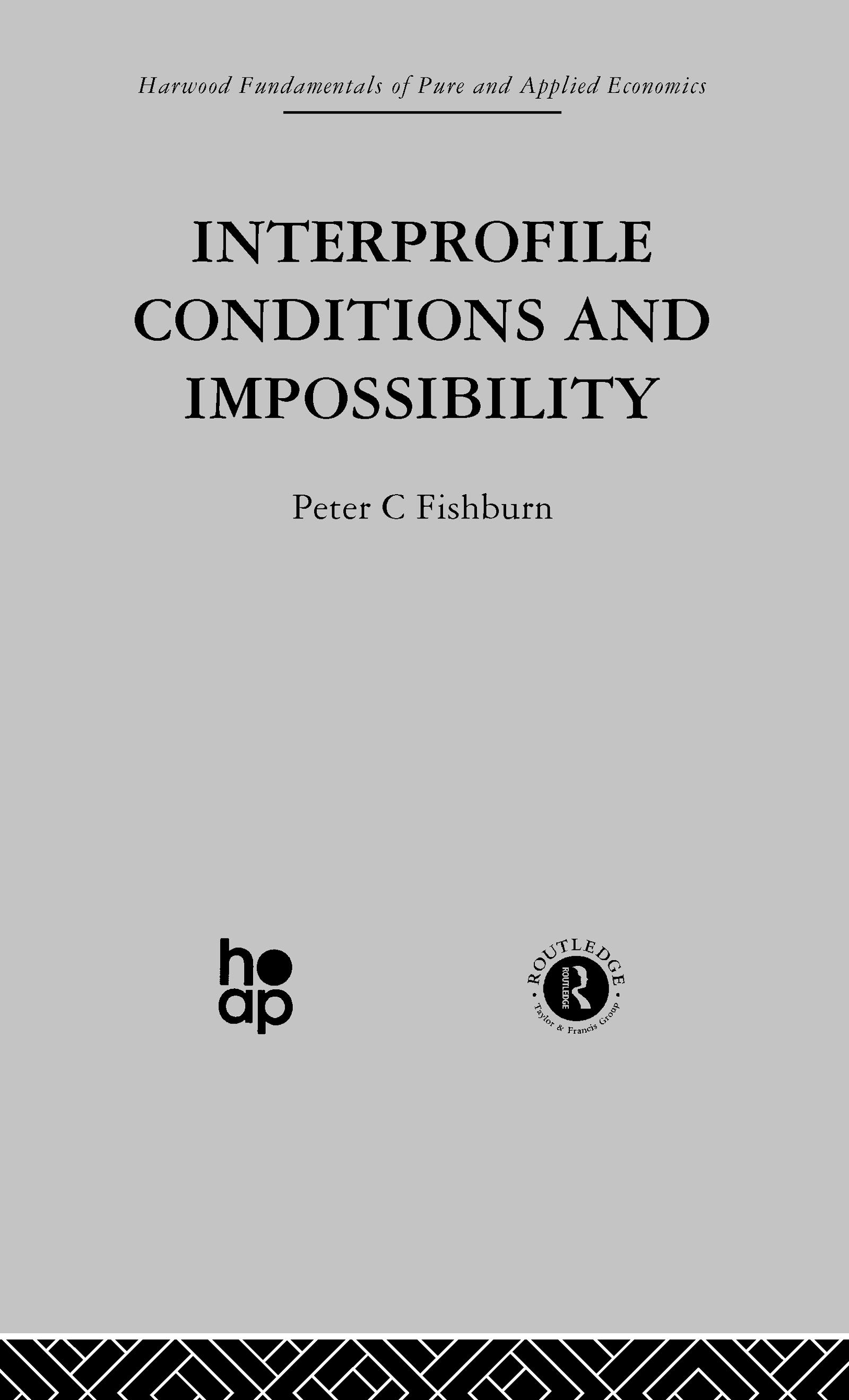 Interprofile Conditions and Impossibility