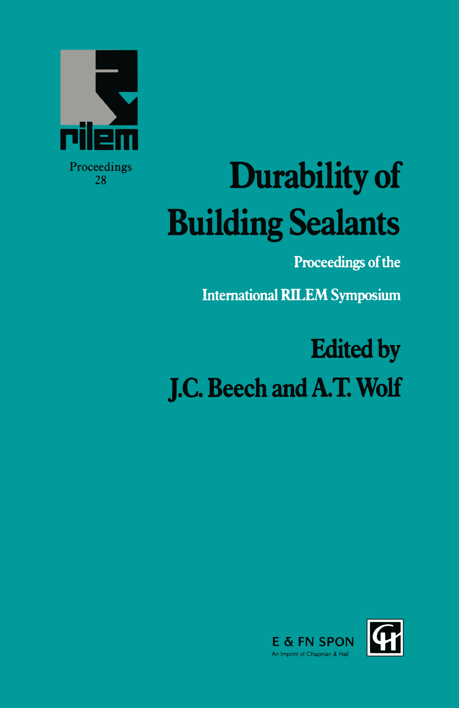 Durability of Building Sealants