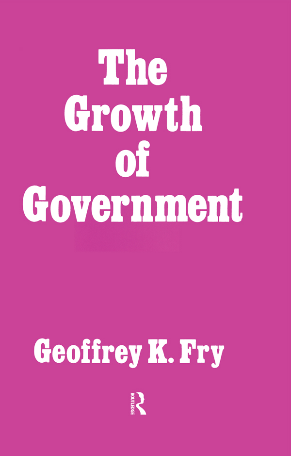 Growth of Government