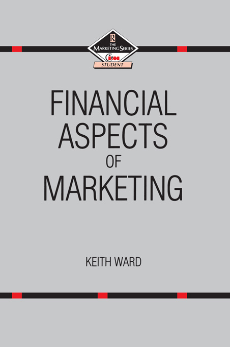 Financial Aspects of Marketing