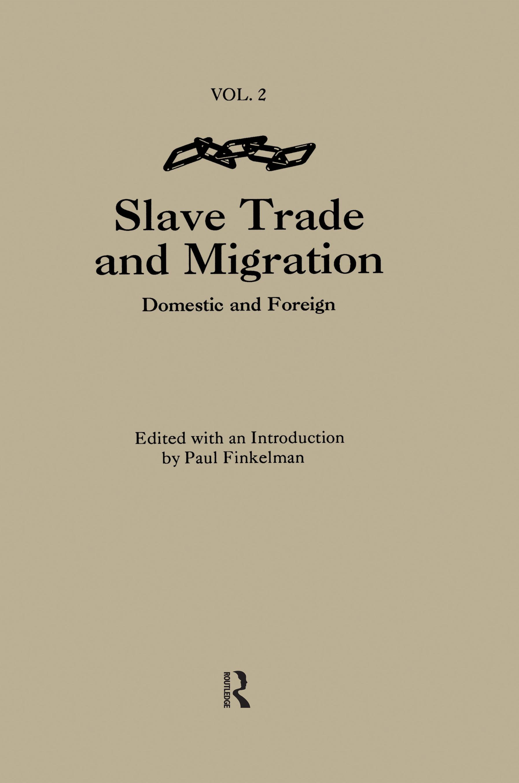 The Slave Trade & Migration