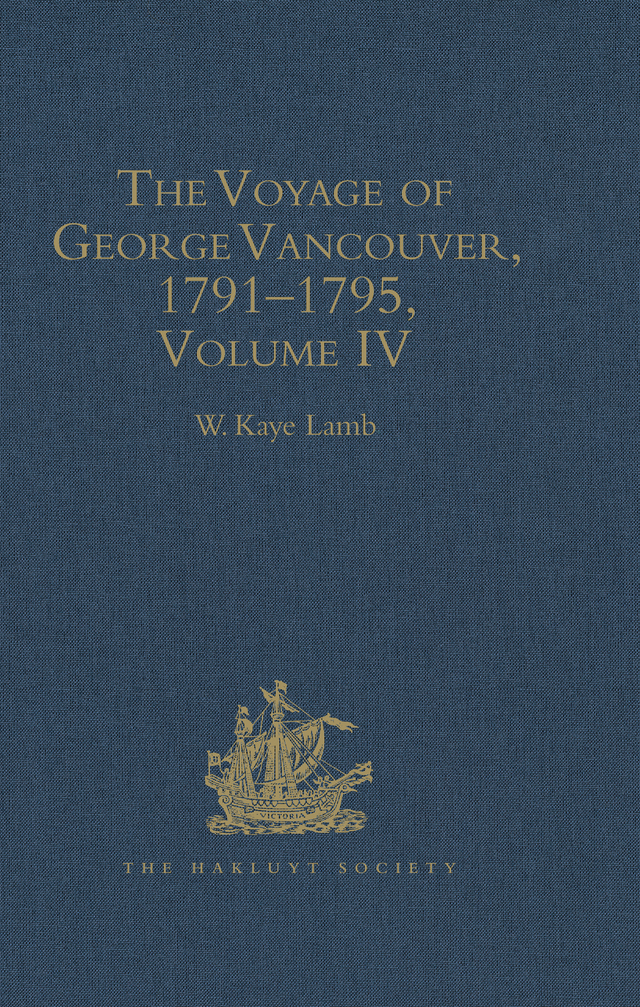 The Voyage of George Vancouver, 17911795