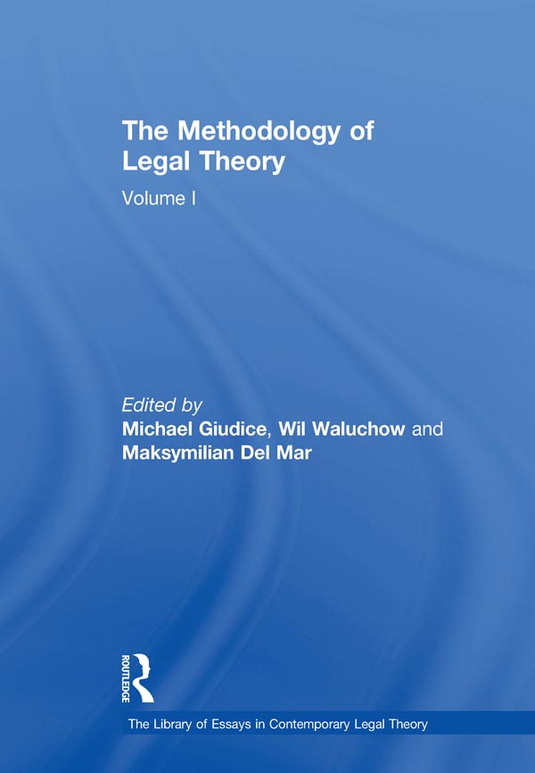 The Methodology of Legal Theory