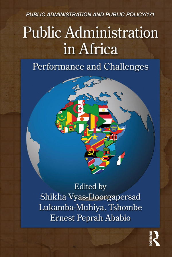 Public Administration in Africa: Performance and Challenges, 1st Edition (e-Book) book cover