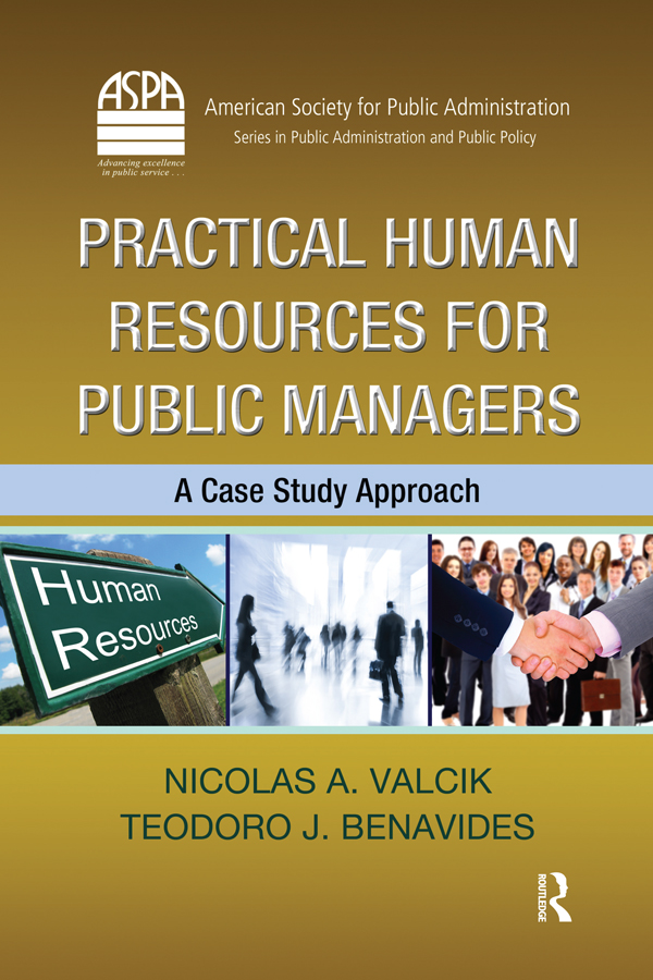 Practical Human Resources for Public Managers: A Case Study Approach, 1st Edition (e-Book) book cover