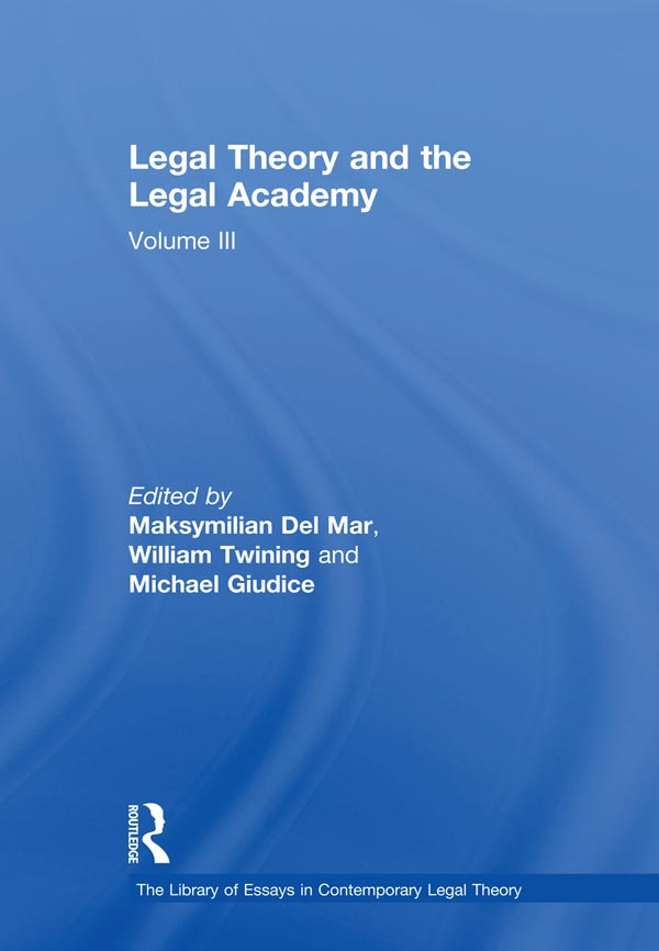 Legal Theory and the Legal Academy