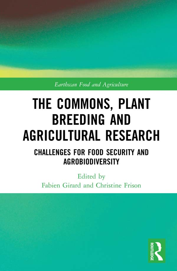 The Commons, Plant Breeding and Agricultural Research