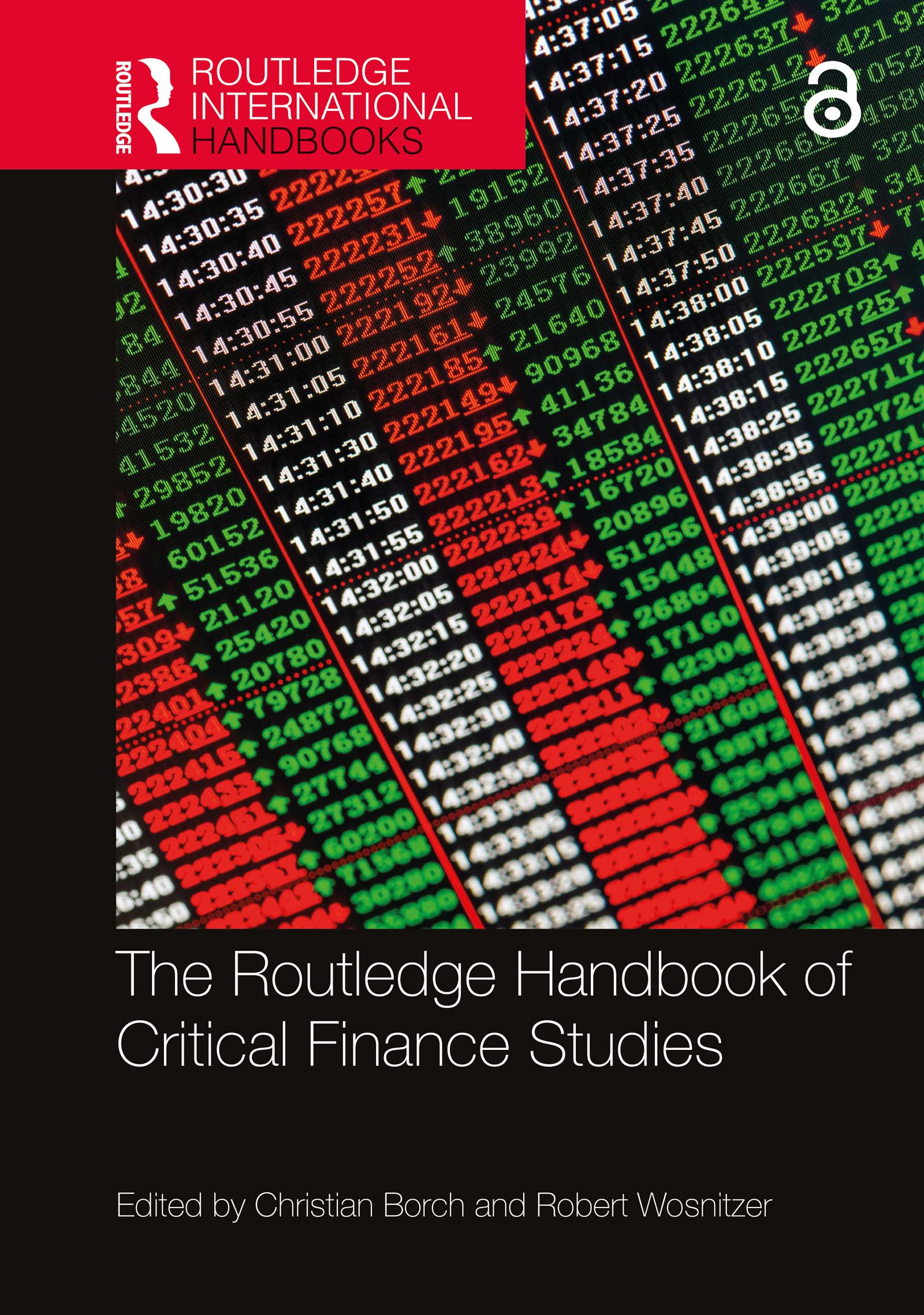 The Routledge Handbook of Critical Finance Studies