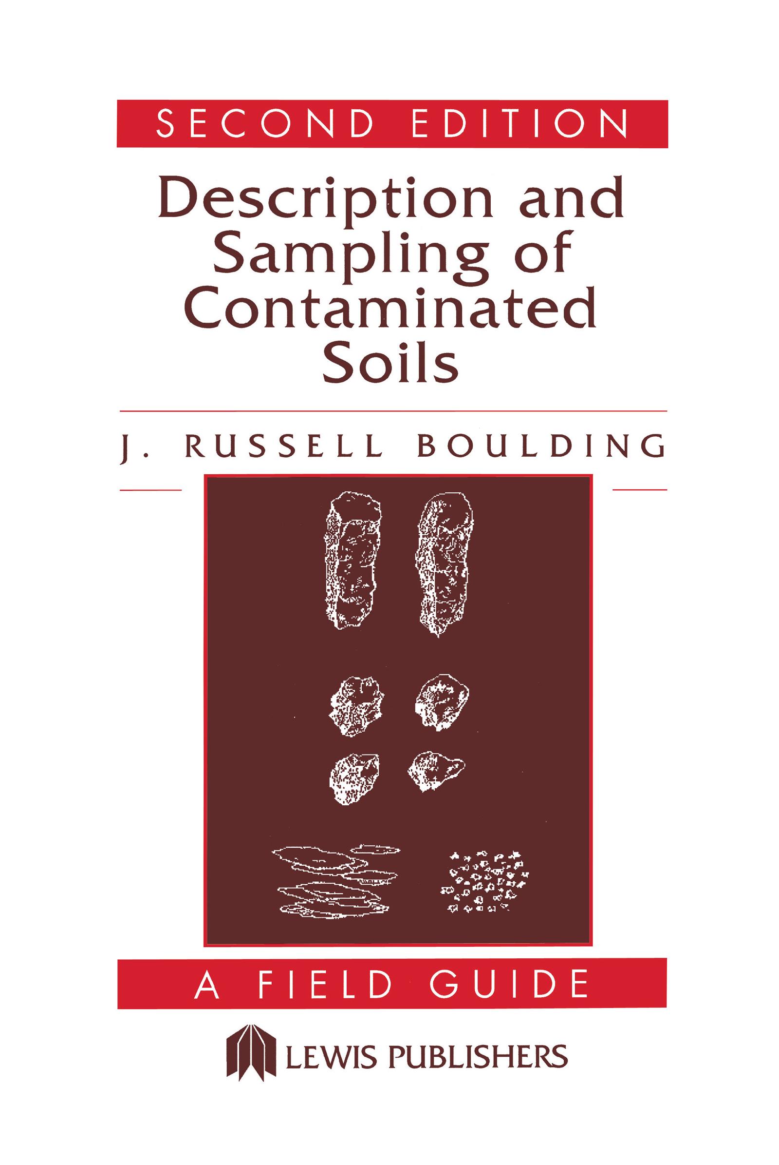 Description and Sampling of Contaminated Soils