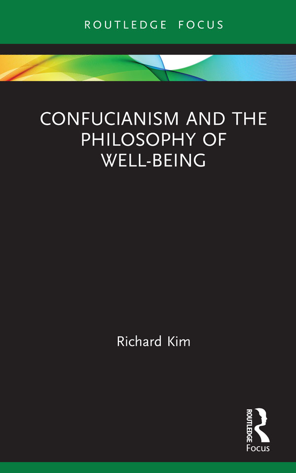Confucianism and the Philosophy of Well-Being book cover