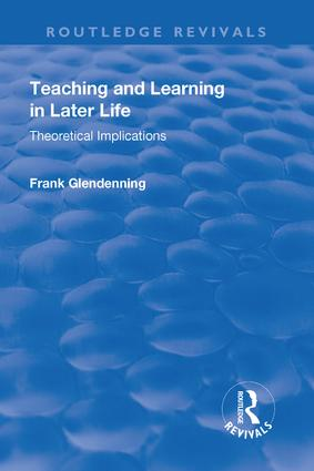 Teaching and Learning in Later Life