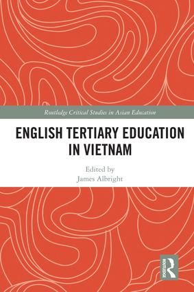 English Tertiary Education in Vietnam book cover