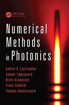 Numerical Methods in Photonics: 1st Edition (e-Book) book cover