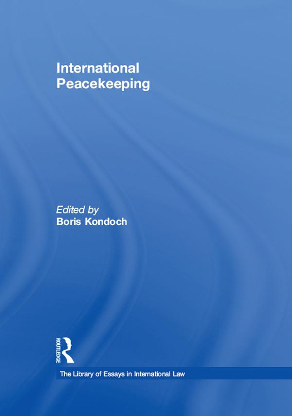 International Peacekeeping