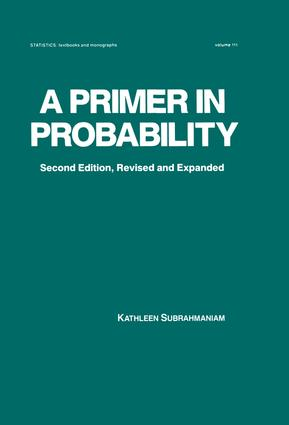 A Primer in Probability