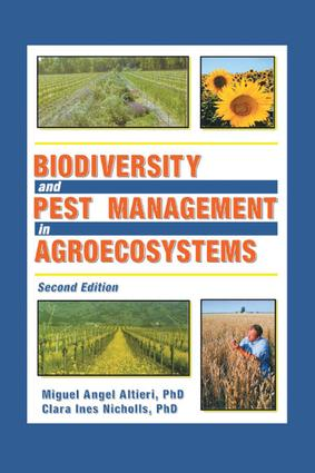 Biodiversity and Pest Management in Agroecosystems: 2nd Edition (Paperback) book cover