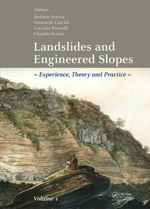 Landslides and Engineered Slopes. Experience, Theory and Practice: Proceedings of the 12th International Symposium on Landslides (Napoli, Italy, 12-19 June 2016), 1st Edition (e-Book) book cover