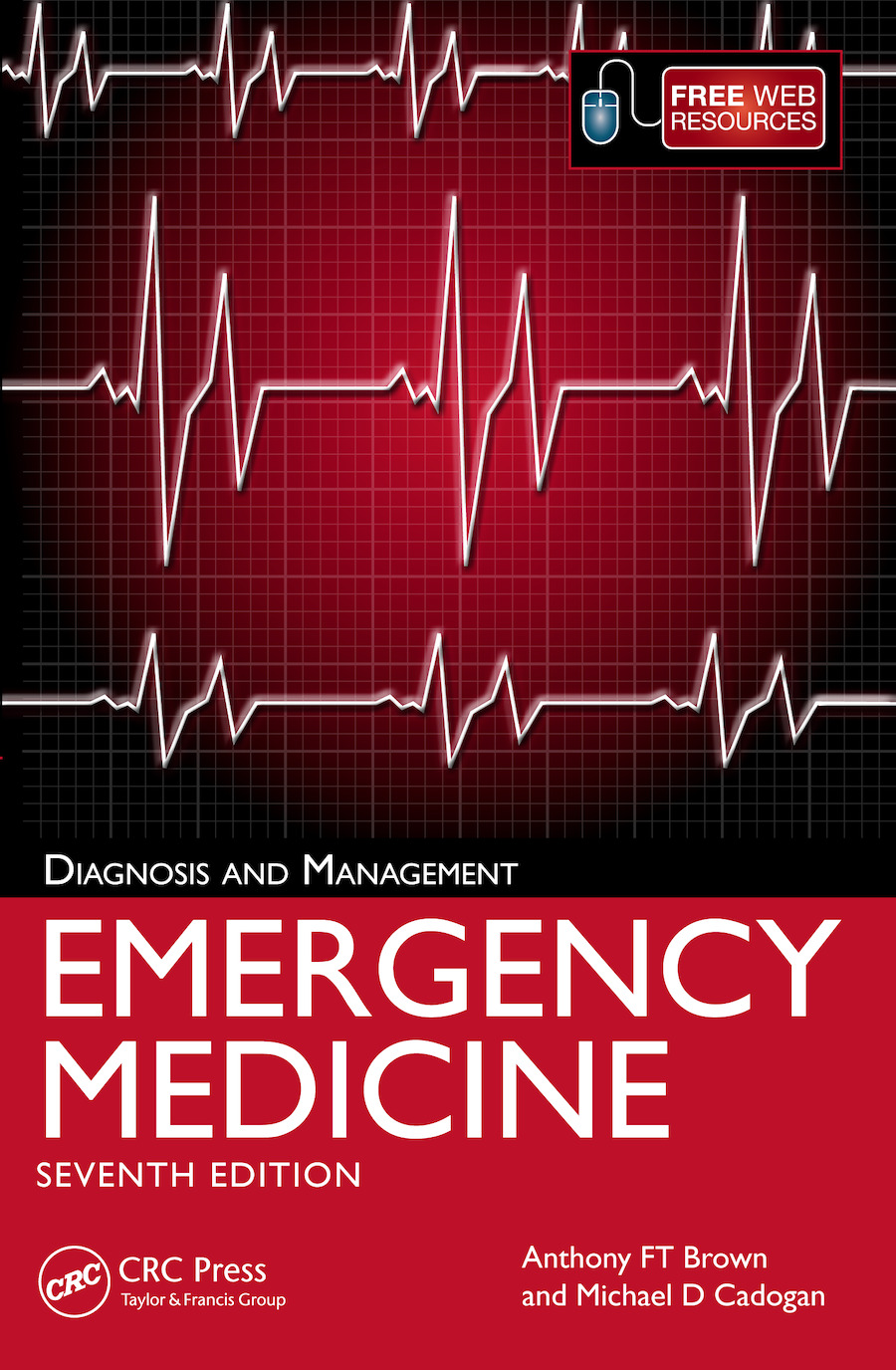 Emergency Medicine: Diagnosis and Management, 7th Edition book cover
