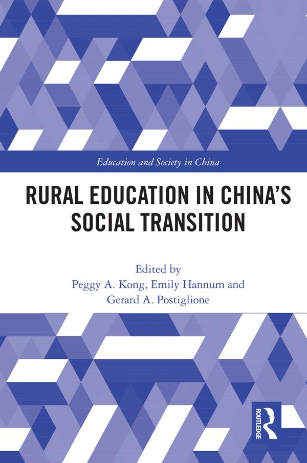 Rural Education in China's Social Transition