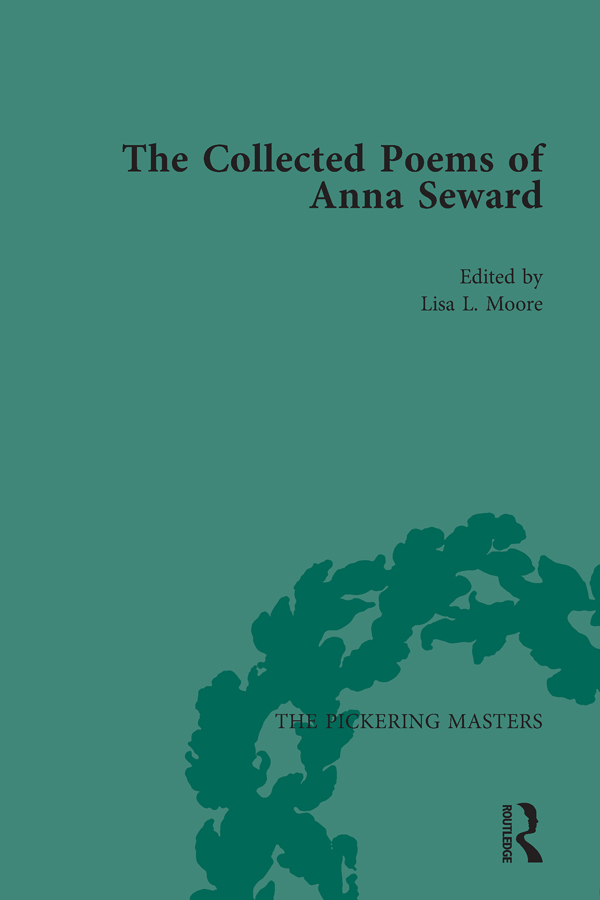 The Collected Poems of Anna Seward Volume 2