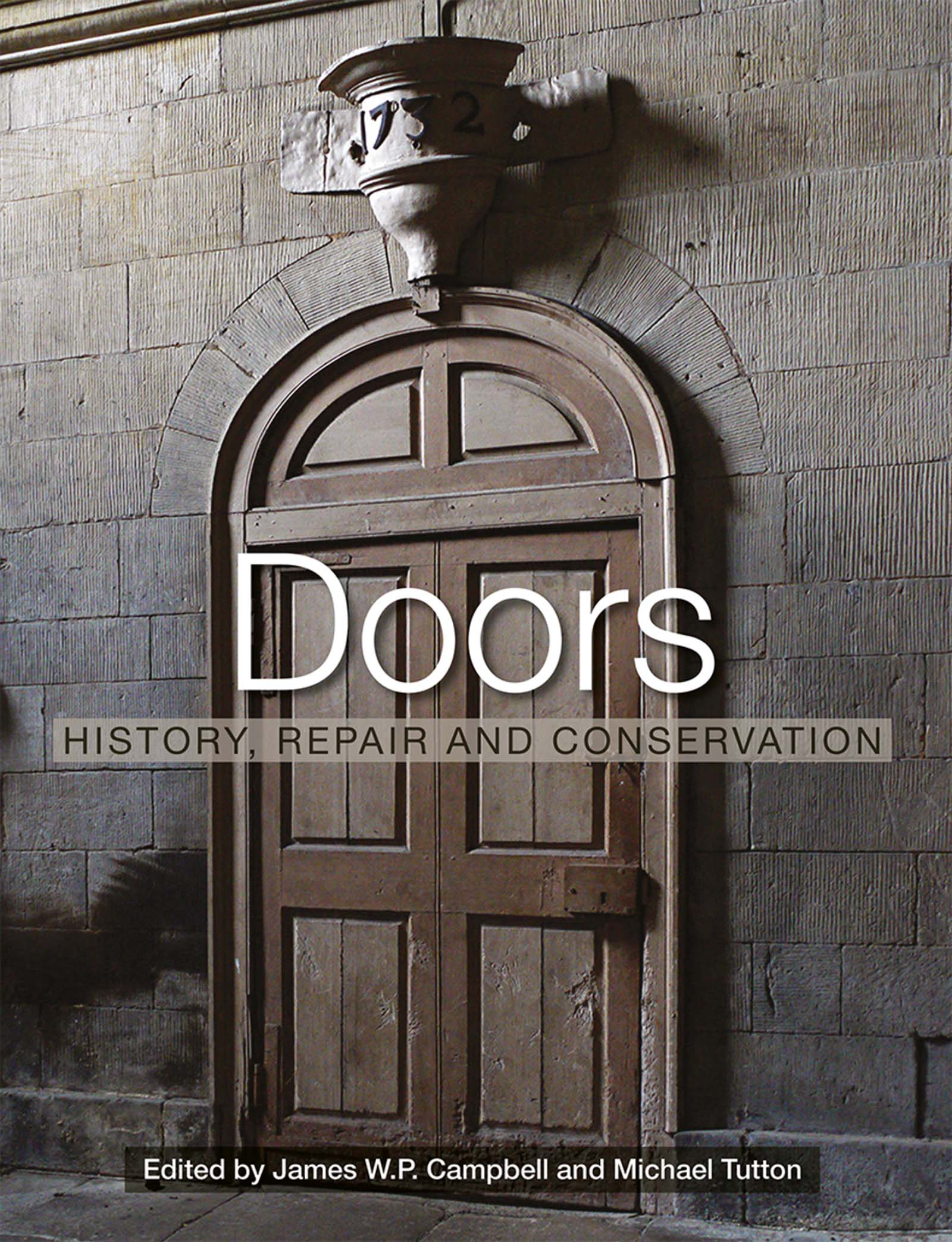 Doors: History, Repair and Conservation book cover