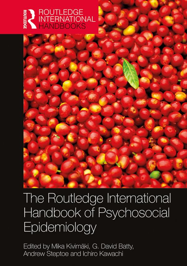 The Routledge International Handbook of Psychosocial Epidemiology