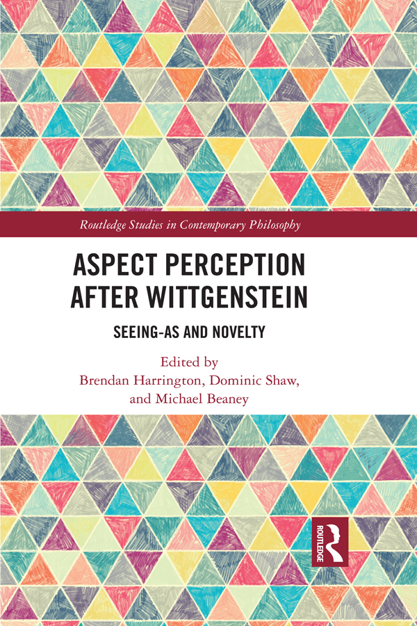 Aspect Perception after Wittgenstein