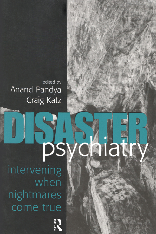 Disaster Psychiatry: Intervening When Nightmares Come True book cover