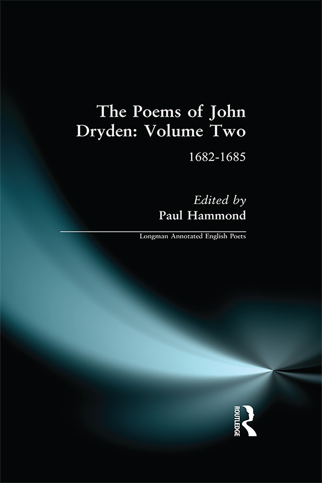 The Poems of John Dryden: Volume Two