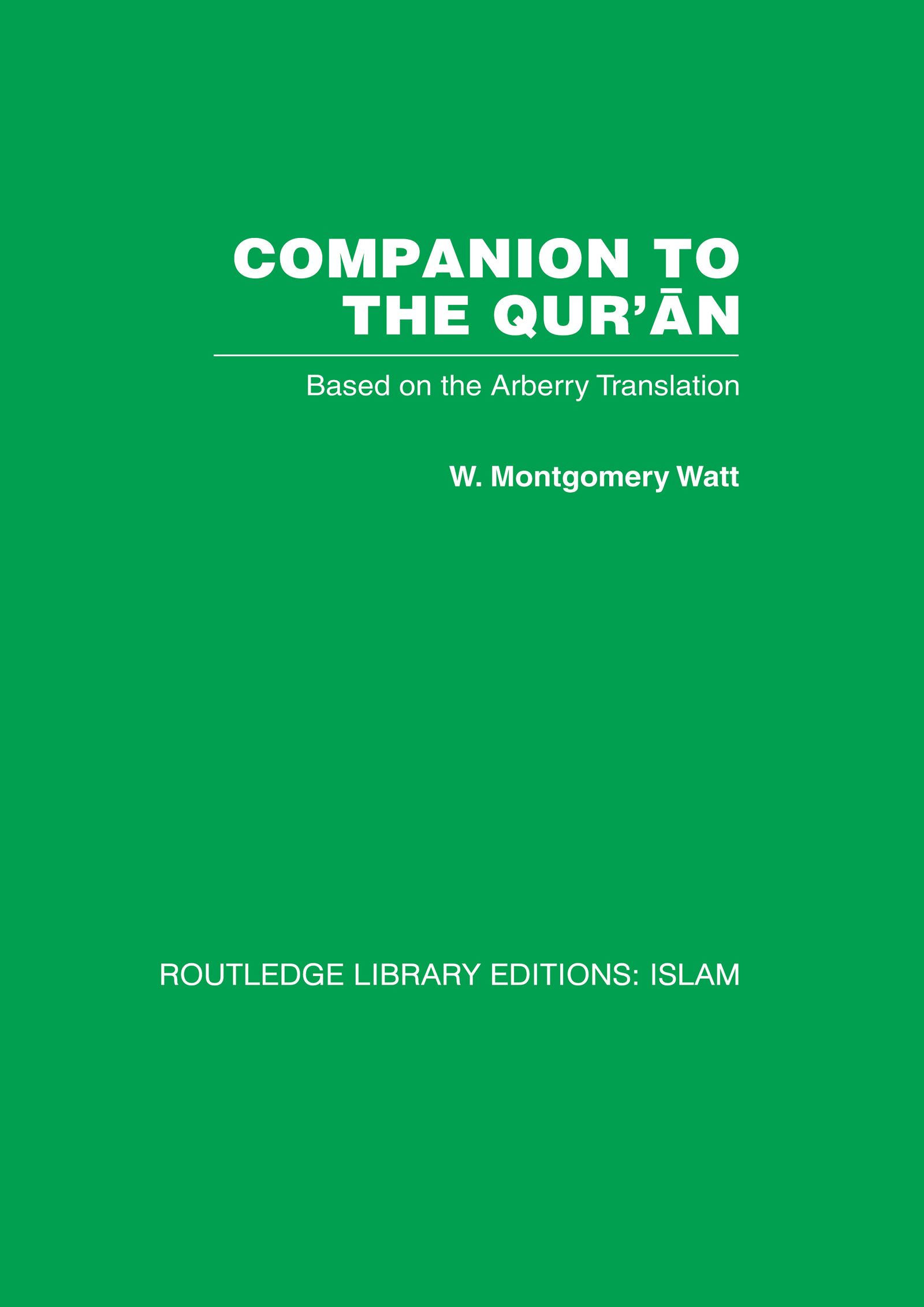 Companion to the Qur'an