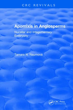 Apomixis in Angiosperms: 1st Edition (Hardback) book cover