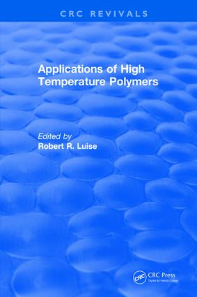 Applications of High Temperature Polymers: 1st Edition (Hardback) book cover