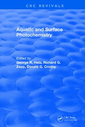 Aquatic and Surface Photochemistry: 1st Edition (Hardback) book cover
