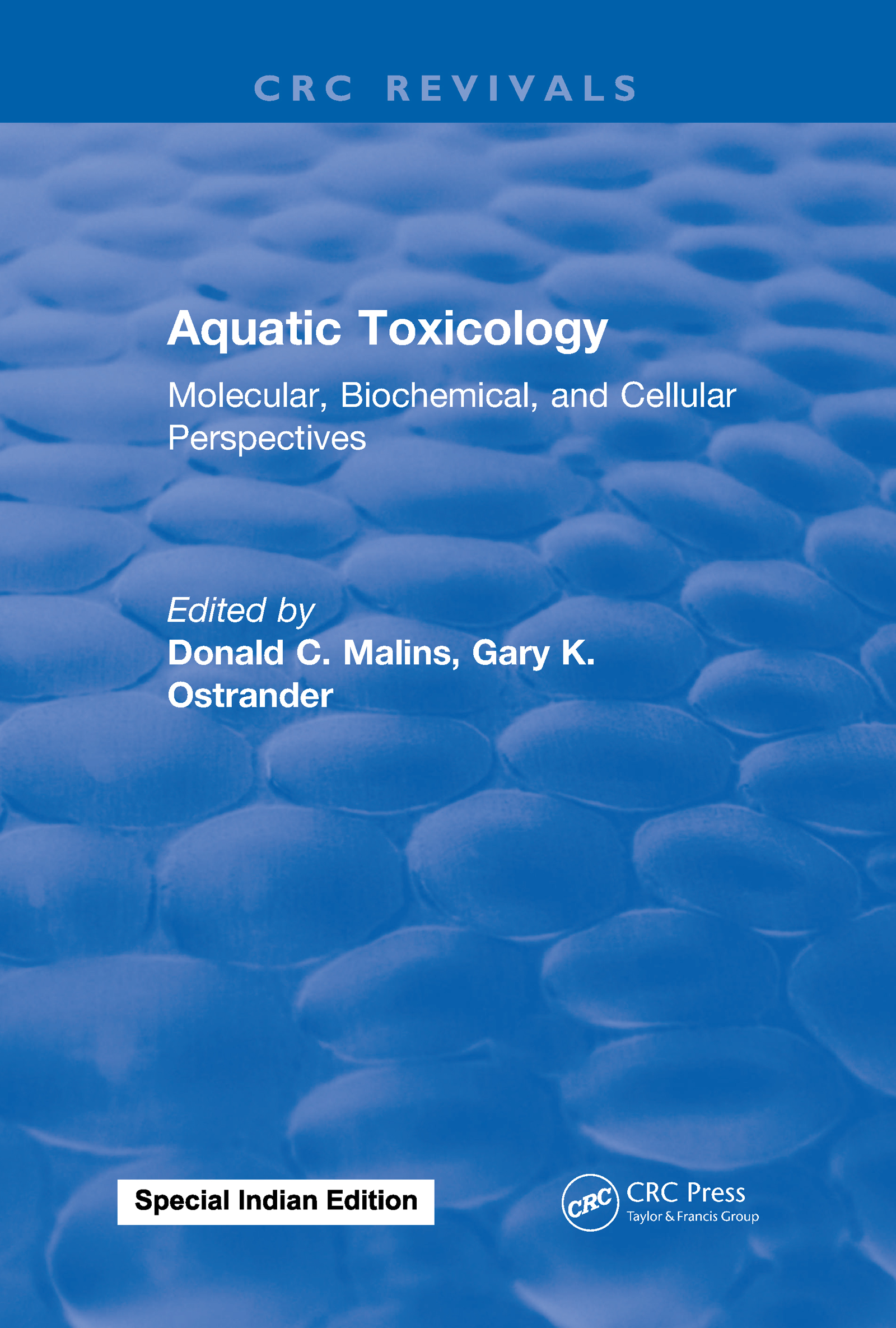 Aquatic Toxicology: Molecular, Biochemical, and Cellular Perspectives, 1st Edition (Hardback) book cover