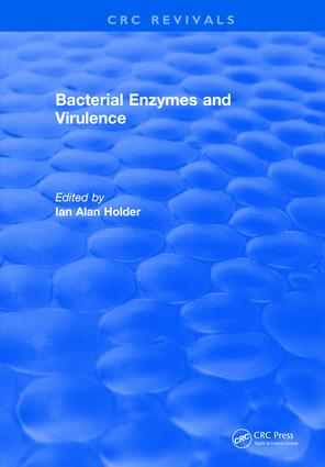 Bacterial Enzymes and Virulence: 1st Edition (Hardback) book cover