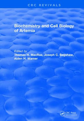 Biochemistry and Cell Biology of Artemia: 1st Edition (Hardback) book cover