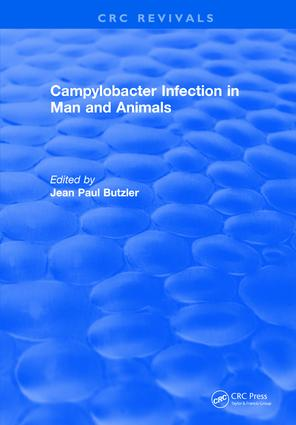 Campylobacter Infection in Man and Animals: 1st Edition (Hardback) book cover