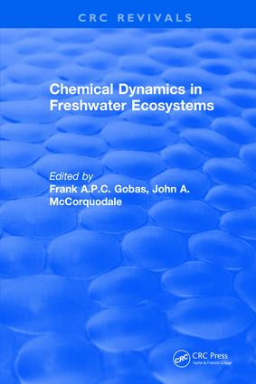 Chemical Dynamics in Freshwater Ecosystems: 1st Edition (Hardback) book cover