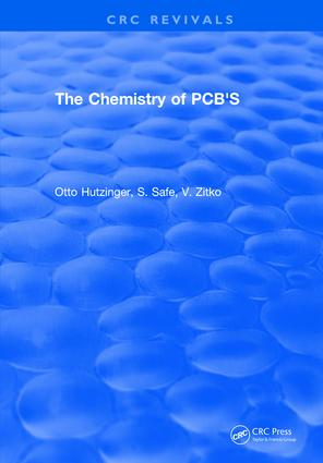 The Chemistry of PCB'S: 1st Edition (Hardback) book cover
