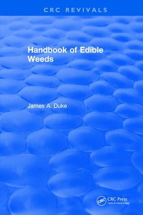 Handbook of Edible Weeds: 1st Edition (Hardback) book cover
