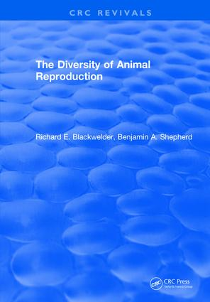 The Diversity of Animal Reproduction: 1st Edition (Hardback) book cover