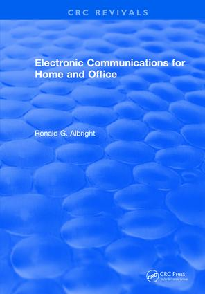 Electronic Communications for the Home and Office: 1st Edition (Hardback) book cover