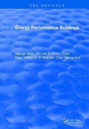 Energy Performance Buildings: 1st Edition (Hardback) book cover