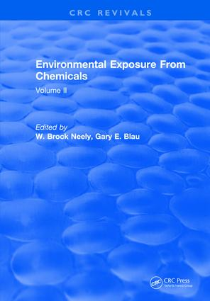 Environmental Exposure From Chemicals: Volume II, 1st Edition (Hardback) book cover